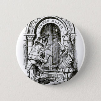 Queen Alice & the Frog 6 Cm Round Badge