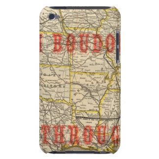 Queen and Crescent Route 2 iPod Touch Case