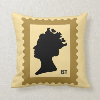 Queen and Crown Stamp