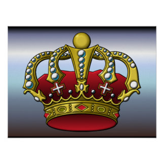 Queen and Kings Crown Posters