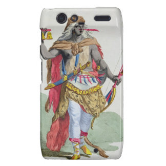Queen Anna Nzinga 1583-1663 from Receuil des E Motorola Droid RAZR Covers