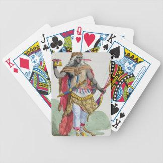 Queen Anna Nzinga (1583-1663), from 'Receuil des E Deck Of Cards