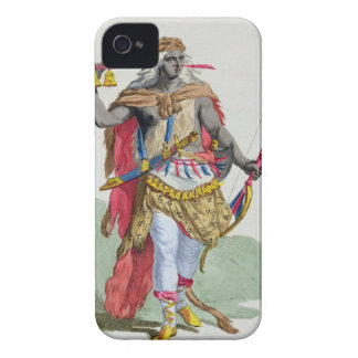 Queen Anna Nzinga (1583-1663), from 'Receuil des E iPhone 4 Covers