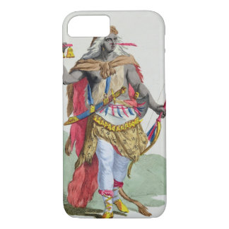 Queen Anna Nzinga (1583-1663), from 'Receuil des E iPhone 7 Case