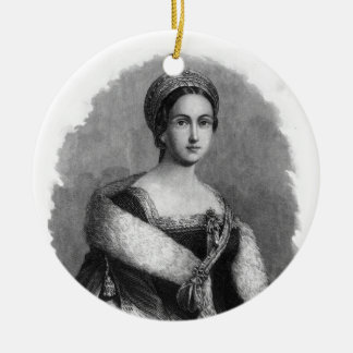 Queen Anne Boleyn Christmas Ornaments