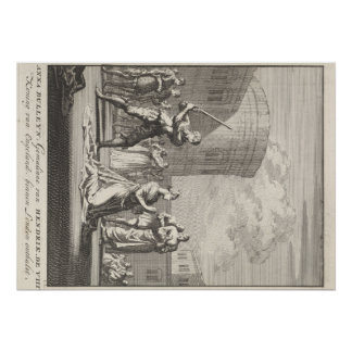 Queen Anne Boleyn Execution Poster
