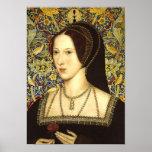 Queen Anne Boleyn Portrait Poster