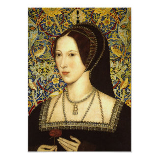 Queen Anne Boleyn Portrait Poster