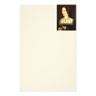 Queen Anne Boleyn Stationary Stationery Paper