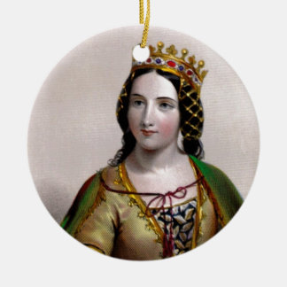 Queen Anne Neville Christmas Tree Ornament