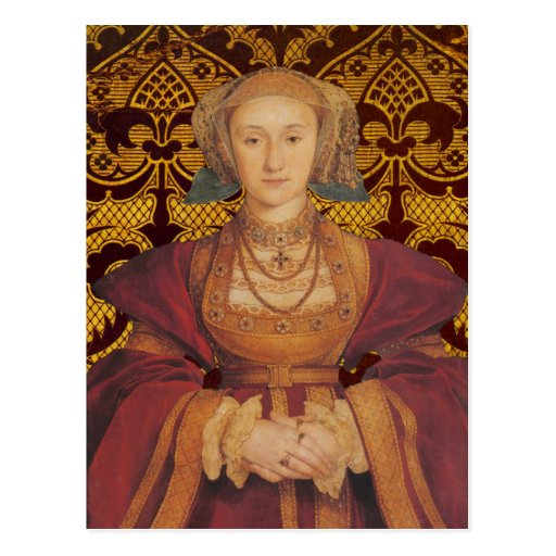 Queen Anne of Cleves  - Portrait Postcard