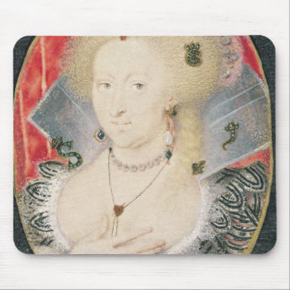 Queen Anne of Denmark, miniature Mouse Mat