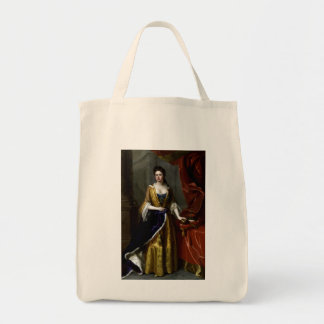 Queen Anne of Great Britain and Ireland Grocery Tote Bag