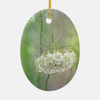 Queen Anne's Lace Christmas Ornament