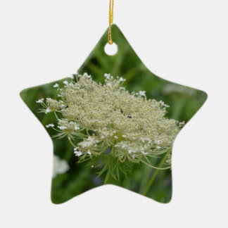 Queen Anne's Lace Christmas Ornaments