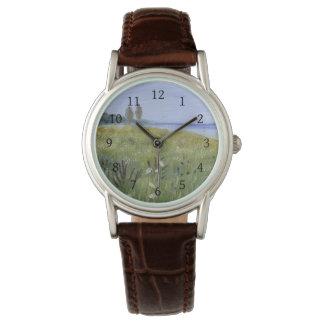 Queen Anne's Lace Delaware River Wrist Watch