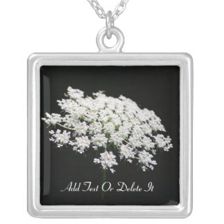 Queen Anne's Lace necklace