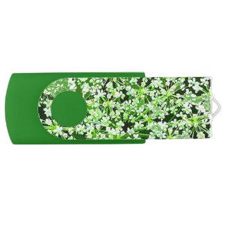 Queen Annes Lace Swivel USB 2.0 Flash Drive