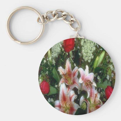 Queen-Anns-Lace, keychain