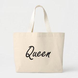 Queen Artistic Job Design Jumbo Tote Bag