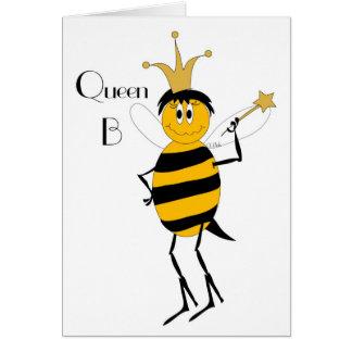Queen B Card