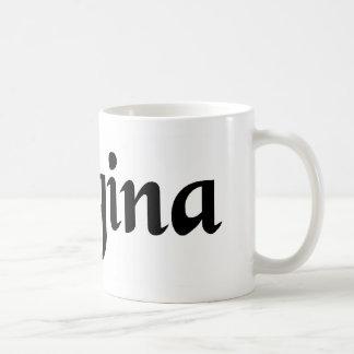 Queen Basic White Mug