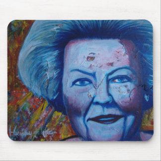 Queen Beatrix Mouse Pad