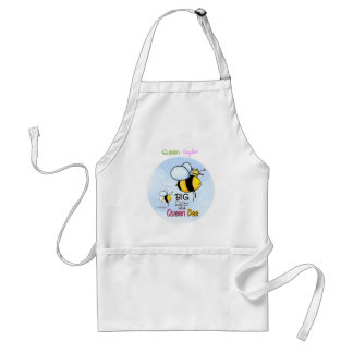 Queen Bee - Big Sister Standard Apron