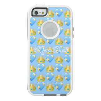 Queen Bee (Blue) iPhone SE/5/5s Otterbox Case