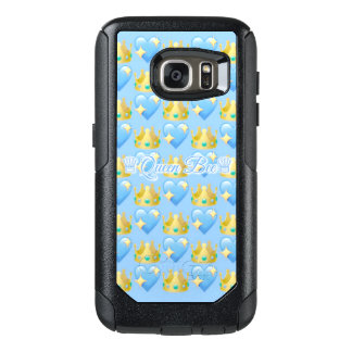 Queen Bee (Blue) Samsung Galaxy S7 Otterbox Case