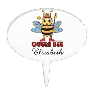 Queen Bee Cake Picks