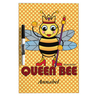 Queen Bee Dry Erase White Board