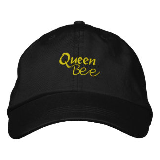Queen Bee Embroidered Baseball Caps