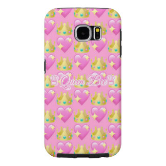 Queen Bee Emoji Samsung Galaxy S6 Case