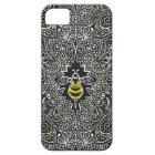 queen bee filigree iPhone or iPad case