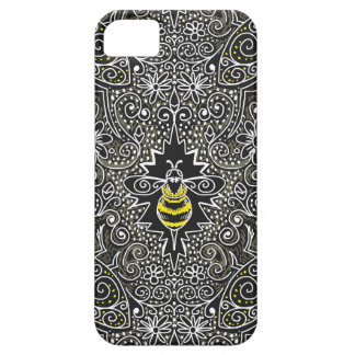 queen bee filigree iPhone or iPad case