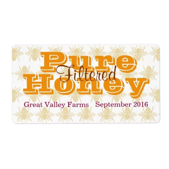Queen Bee Filtered Honey Jar
