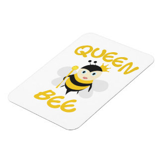 Queen Bee Vinyl Magnets