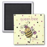 Queen Bee Fridge Magnet
