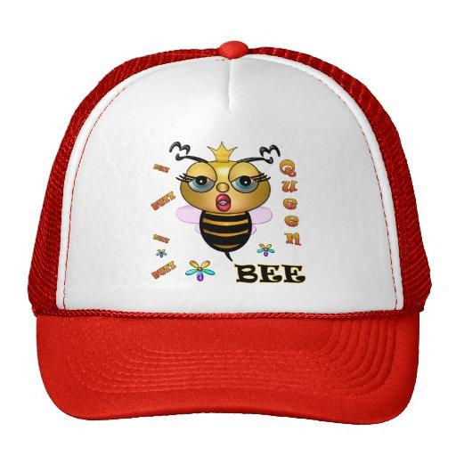 Queen Bee Mesh Hats