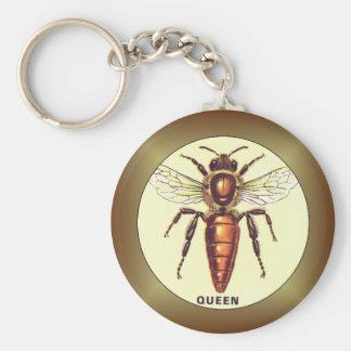 Queen Bee Key Ring