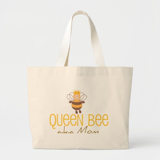 Queen Bee Large Tote Bag