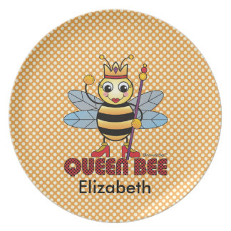 Queen Bee Plate