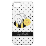 Queen Bee Polka Dot Personalised Case iPhone 5 Case