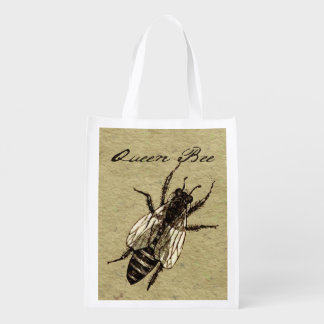 Queen Bee Reusable Grocery Bag