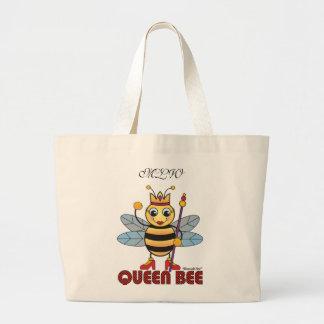 Queen Bee Tote Bags