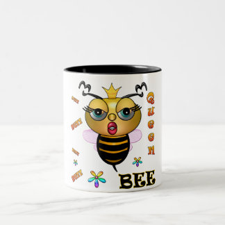 Queen Bee Two-Tone Coffee Mug