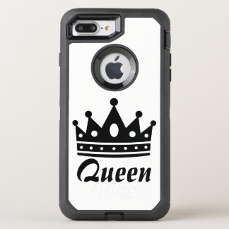 Queen Black & White Otterbox Case