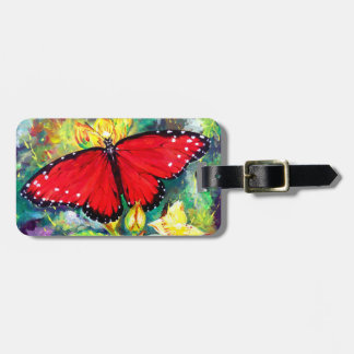 Queen Butterfly Luggage Tag