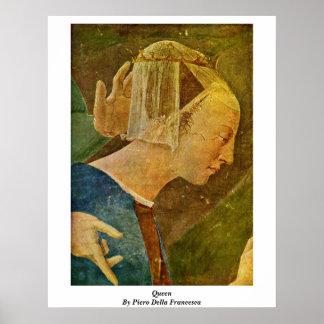 Queen. By Piero Della Francesca Posters
